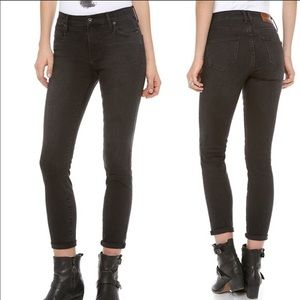 Madewell Skinny Skinny High Riser Black Jeans 31